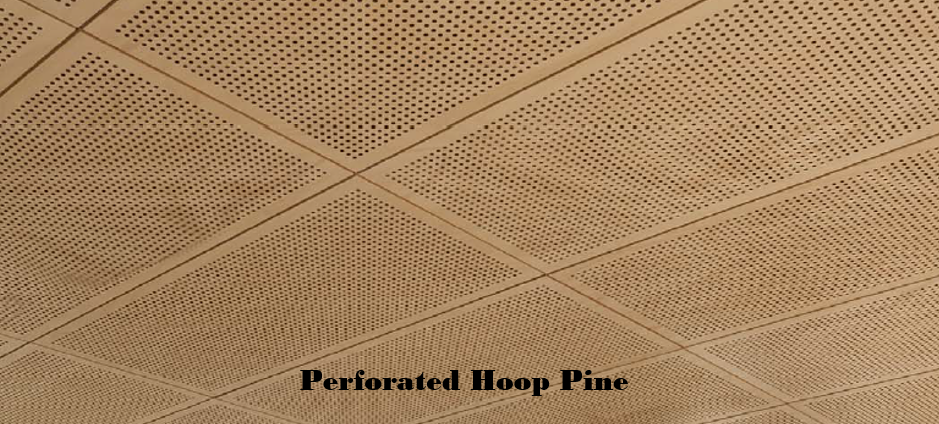 Perforated Timber Panels Ceiling Distributors